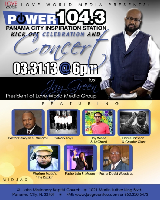 Join us for the kickoff of Panama City's Power 104.3